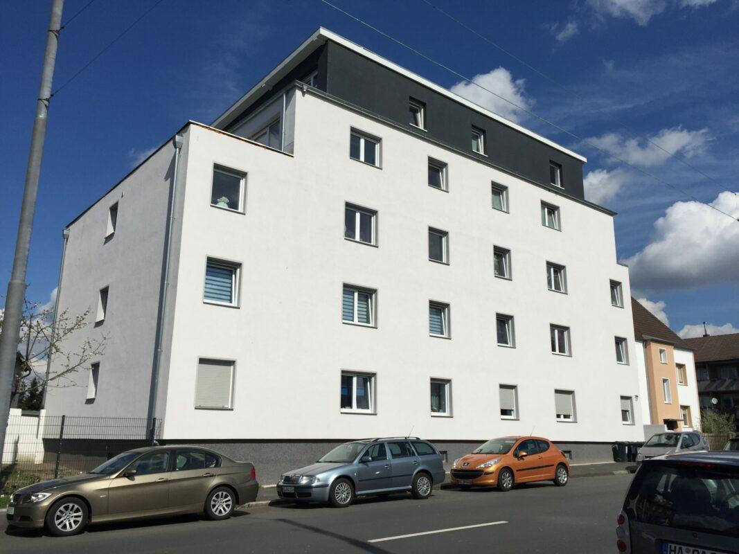 Umbau eines Merhfamilienhauses in Hagen, AUFSTOCKUNG UND UMBAU EINES MEHRFAMILIENHAUSES IN HAGEN, BÖHLERSTRASSE 153-155, BAUZEIT 2014-2016, BILICAN