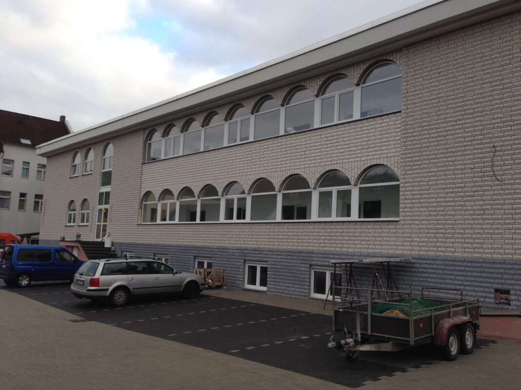 Moschee in Recklinghausen, ERRICHTUNG EINER MOSCHEE IN RECKLINGHAUSEN, BAUZEIT 2008-2013, BILICAN