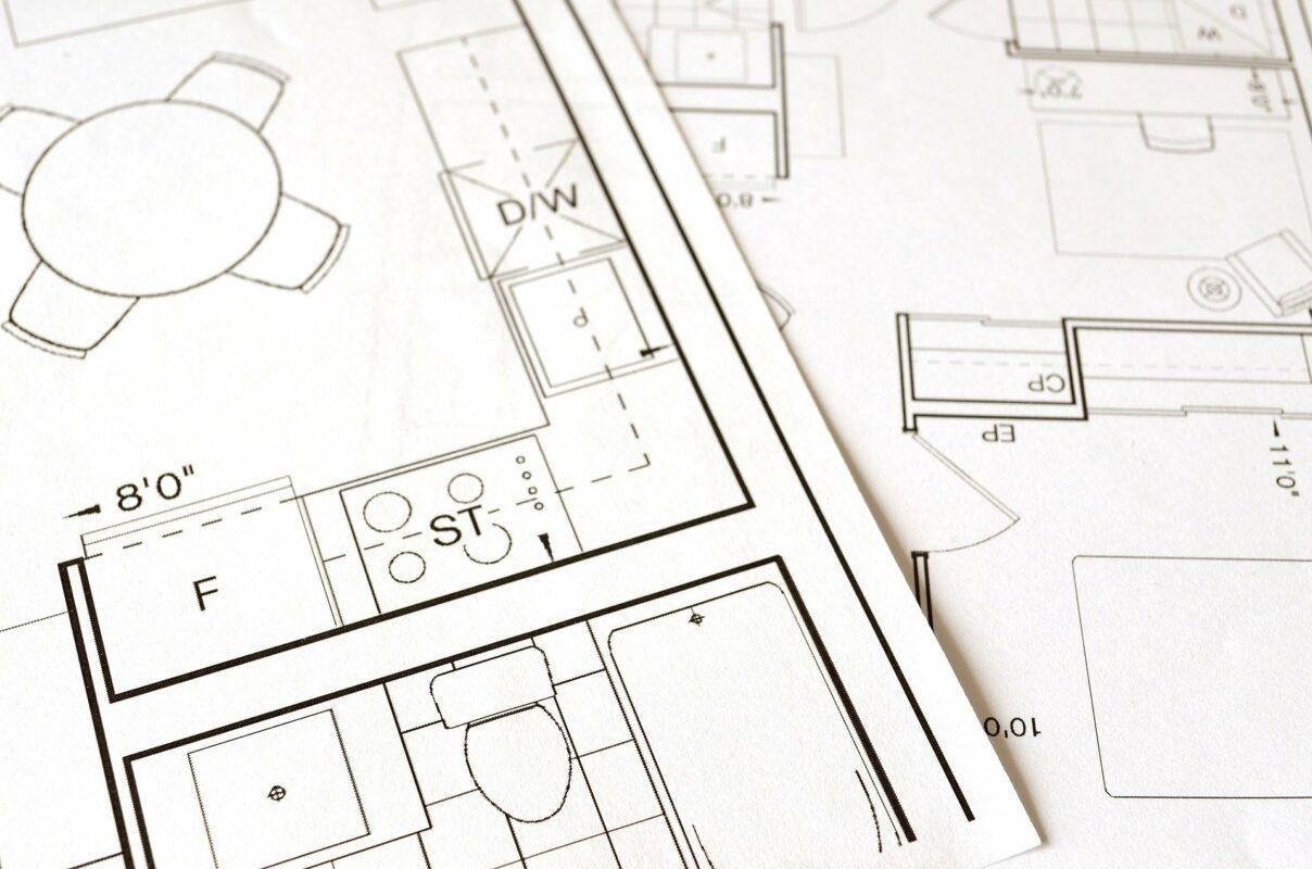 Architektur Plan